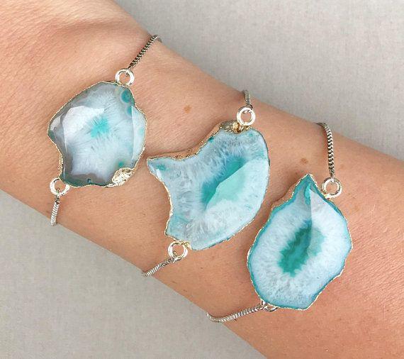 Geode Adjustable Bracelet