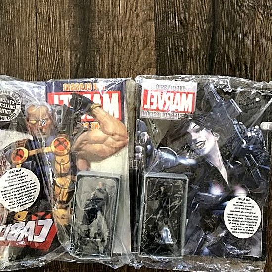 Comics fans of all ages will love this Marvel Eaglemoss Classic Figurines - Domino & Cable Sealed W/ Magazines 178 / 63! Each sold. Find great deals on comics-figurines.us for classic marvel figurine collection cable. Marvel Eaglemoss Classic Figurines - Domino & Cable Sealed W/ Magazines 178 / 63. #hero #comics #DCComics #DC #Marvel #figurines #Collectibles #gifts #collect