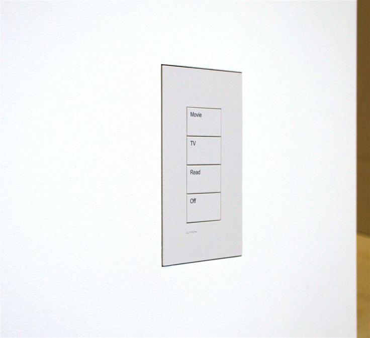 Wall-Smart for Lutron Palladiom US Matt