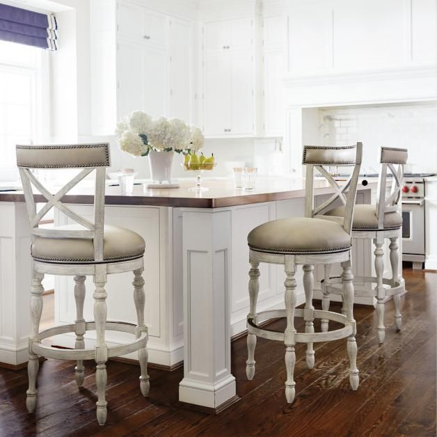 Griffith X Back Swivel Bar And Counter Stools In 2019 W