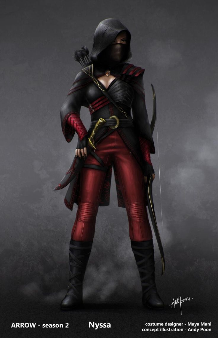 Nyssa al Ghul - can't wait to dress up as her for ren fest!!