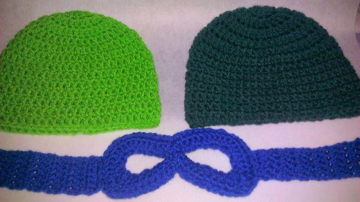 Free Crochet Pattern Ninja Turtle Mask : Crochet Mask and Beanie Accessories, Turtles and Yarns