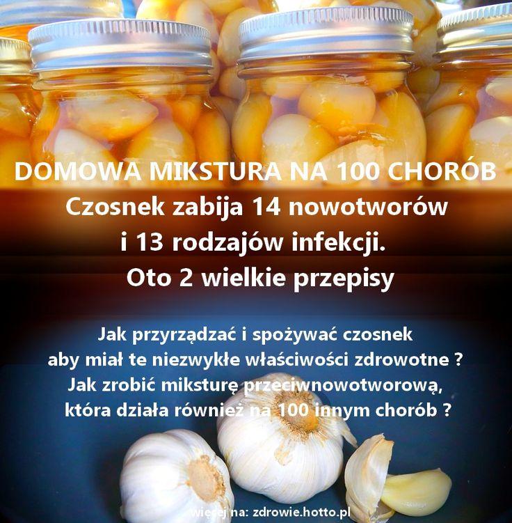 Czy wiesz jak przyrządzać i spożywać czosnek aby miał te niezwykłe właściwości zdrowotne ? I jak zrobić miksturę przeciwnowotworową, która działa
