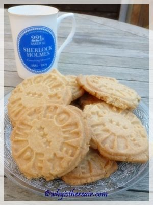 Madame Thermomix's Semolina Shortbread Biscuits