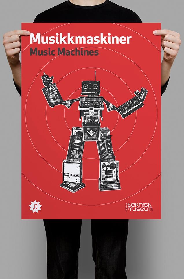 Music Machines ‹ Eivind Vetlesen : Graphic Design & Illustration