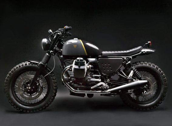 Moto Guzzi V7 Stone by Venier Custom