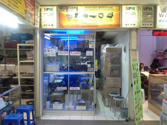 Toko perlengkapan mesin kasir dab barcode paling lengkap di Makassar ada di MTC