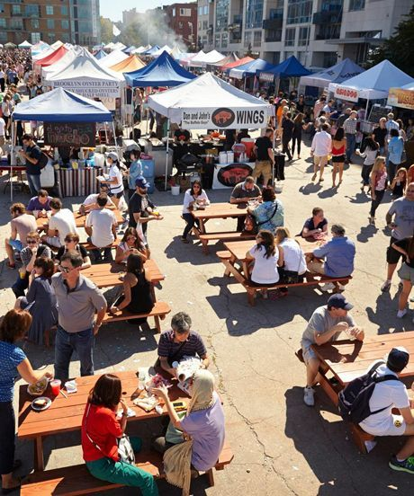 Smorgasburg Brooklyn Best Food Vendors List | You know you want to go to Smorgasburg. Here's a little help on what to eat once you're there. #refinery29 http://www.refinery29.com/best-smorgasburg-vendors-list