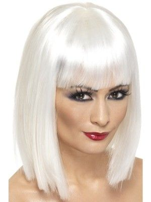 White Bob Wig Sia Quot Chandelier Quot Costume Halloween