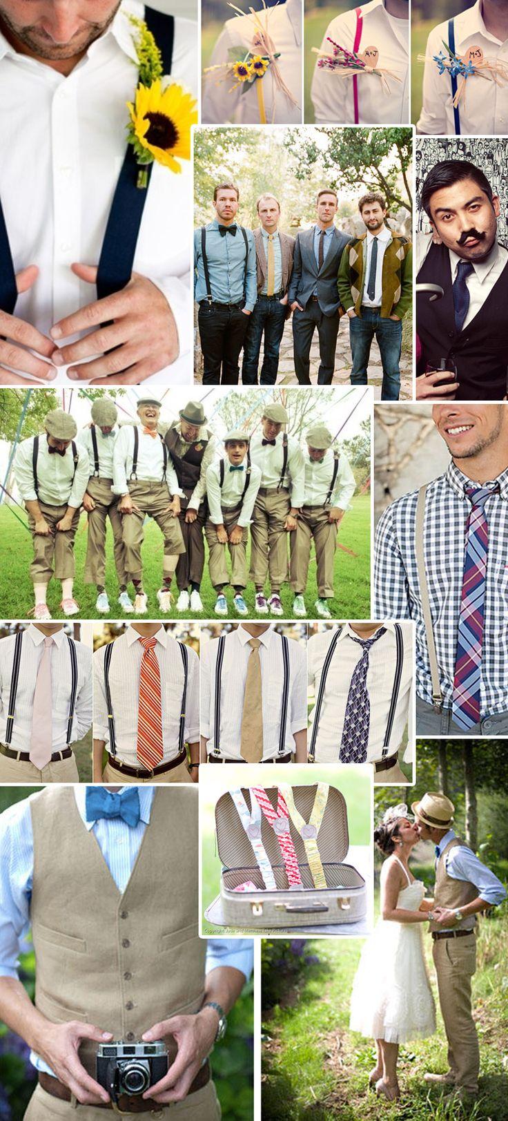 Old Fashioned Style Trendy for Modern Weddings #thebestweddingblogever #groomsmen #vintage