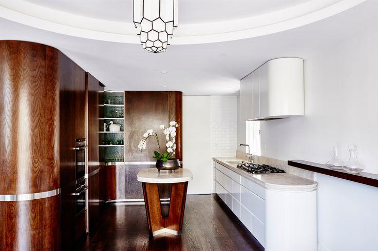 Deco inspired kitchen Brooke Aitken Design