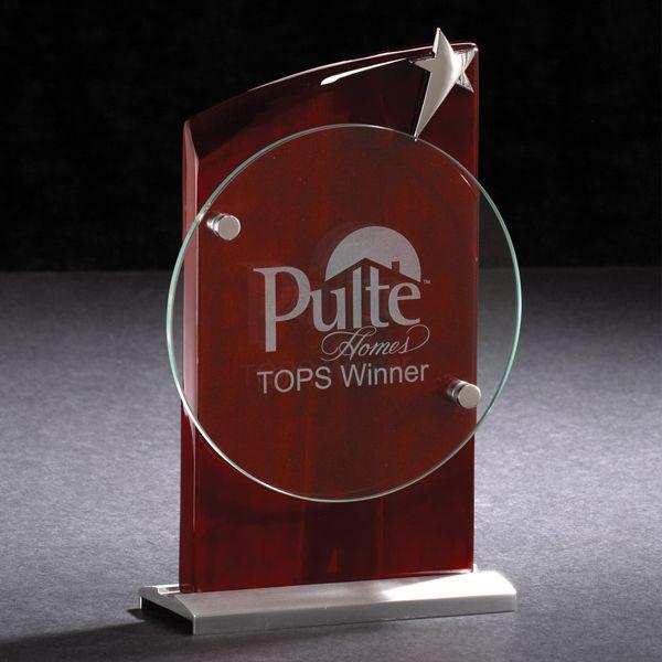 Crest Plaque Award