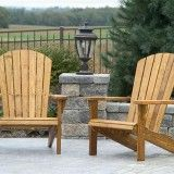 White Cedar Adirondack Chairs - Home Furniture Design