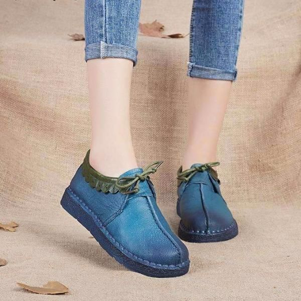 Women Shoes Genuine Leather Shoes Handmade I GoPurchase  