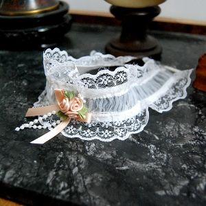 Ras de cou jarretière mariage