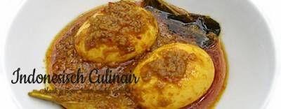 Telor Besengek - Indonesisch recept | m.indonesisch-culinair.nl