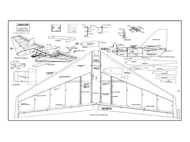 Combat King Oz10560 By Anatoly Litvinenko Viacheslav Beliaev From Rcme 1993 Plan Thumbnail Model Airplanes Remote Control Planes Model Planes