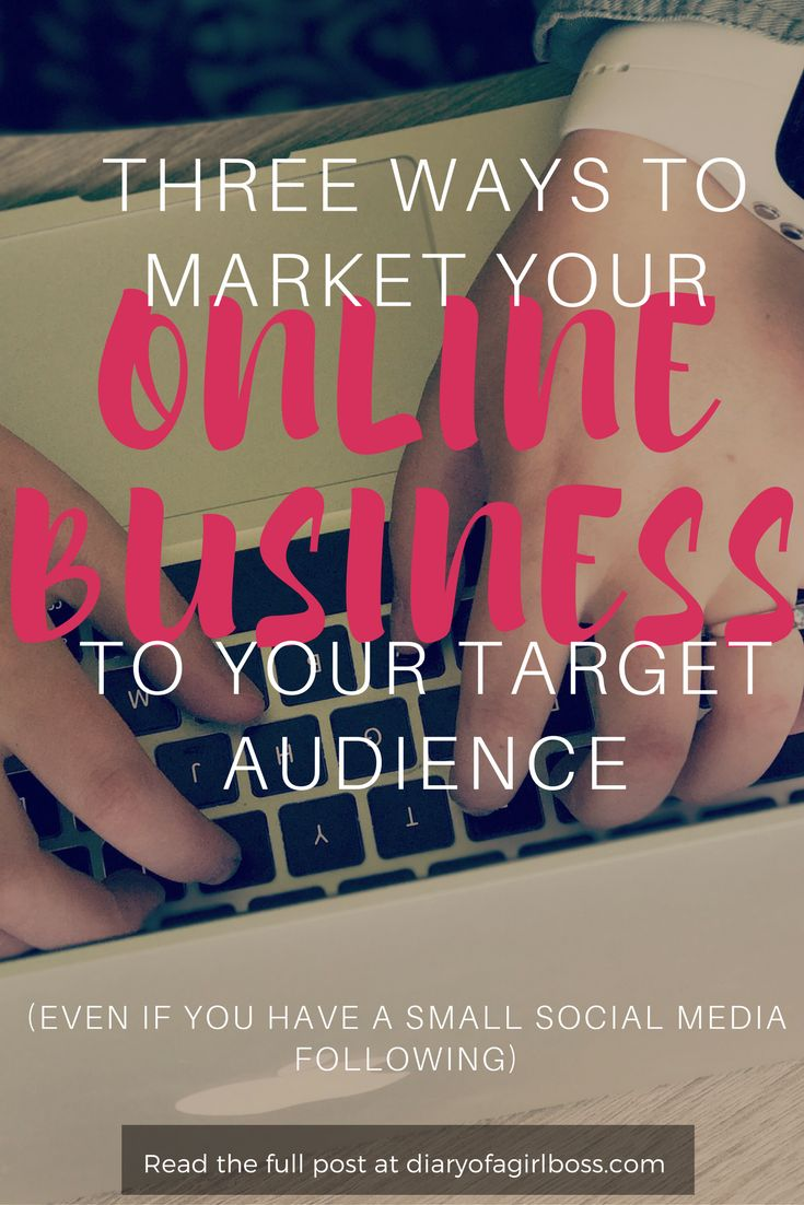 Are you brand new to online business and you want to get your name, your brand and your business out there in front of your target audience? Read the full blog to learn three ways to market your online business even if you don't have a large social media