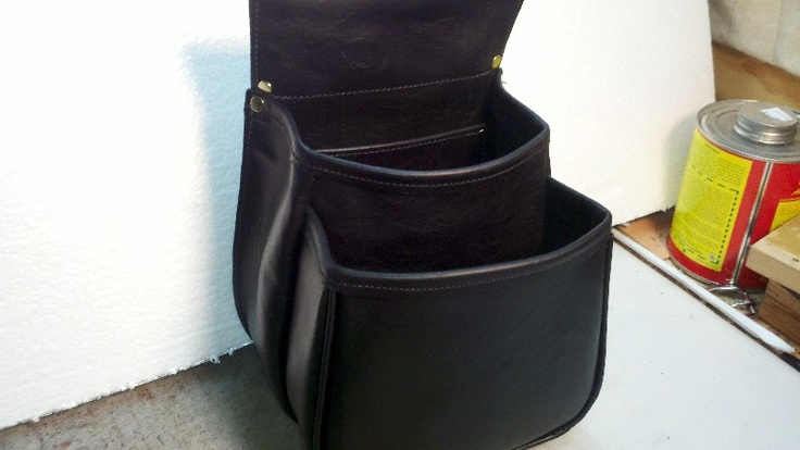 Shell Pouch by Tex Hollis...Great leather, great leather