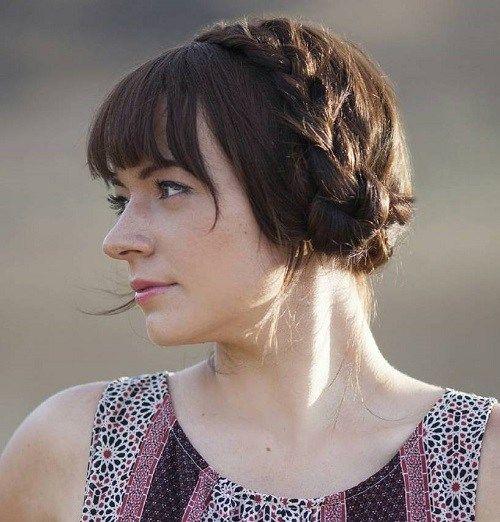 20 Best Milkmaid Hairstyles – Pretty Milkmaid Braid for Women