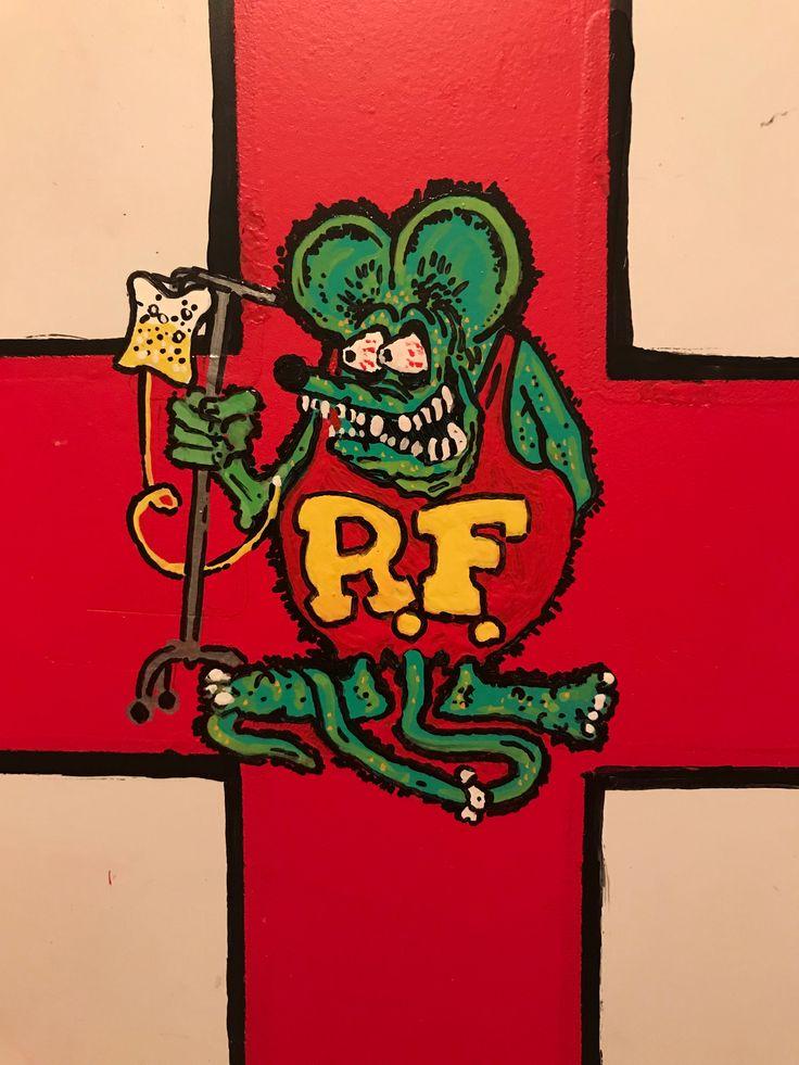 rat fink first aid kit