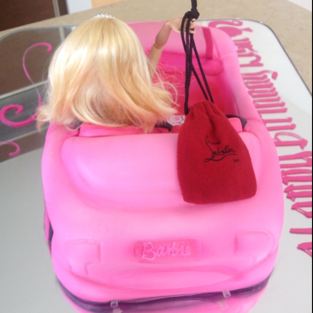 Birthday cake barbie cake addi s birthday ideas pinterest