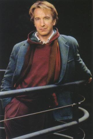 Alan Rickman - this man has impressed me since day one. His acting is phenomenal and truly awesome to watch.