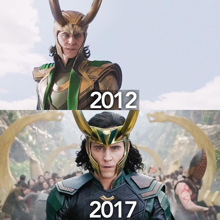 "comicbookjokes: ""Loki is back!!"" https://www.instagram.com/p/BSuq0YOAvdK/"