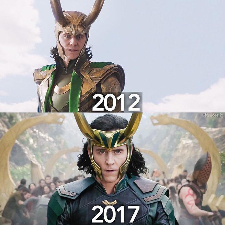 "comicbookjokes: ""Loki is back!!"" https://www.instagram.com/p/BSuq0YOAvdK/"