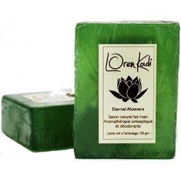 Sapun ayurveda antiseptic cu ceai verde, aloe vera si neem
