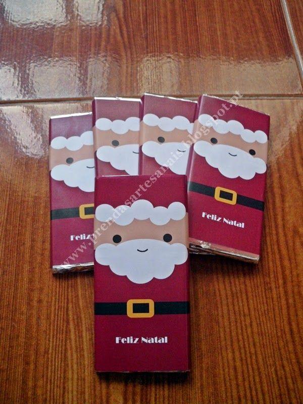 Chocolate personalizado - Natal                                                                                                                                                                                 Mais