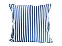 Sports Luxe Stripe Cushion 45 x45cm, Blue
