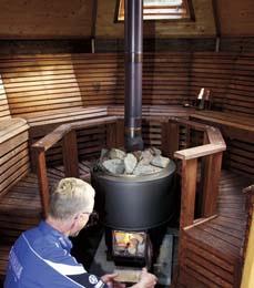 Sauna on the water
