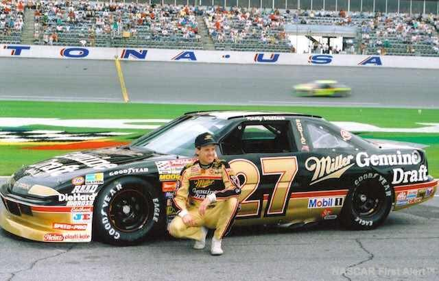 Here's a classic image for our Rusty Wallace fans taken at Daytona International Speedway.