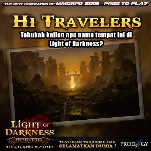 Jangan lupa mainkan Light of Darkness Indonesia di http://bit.ly/FPLightOfDarkness