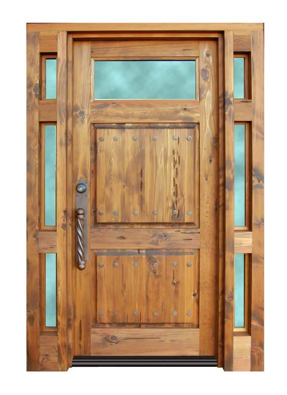 36 best exceptional entryways images on pinterest for Wooden front doors with glass