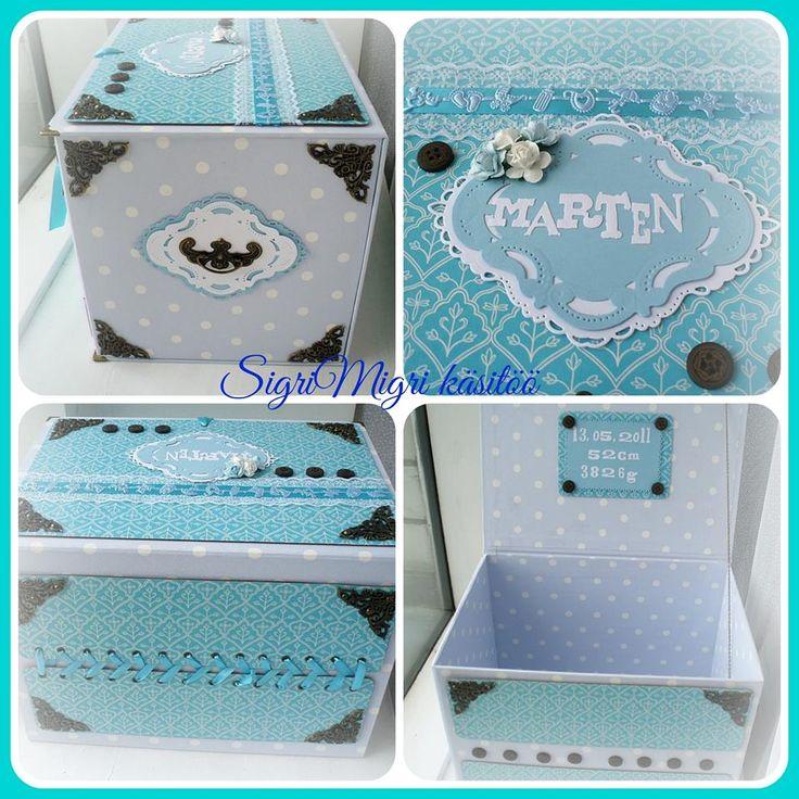 Baby boy´s memory box
