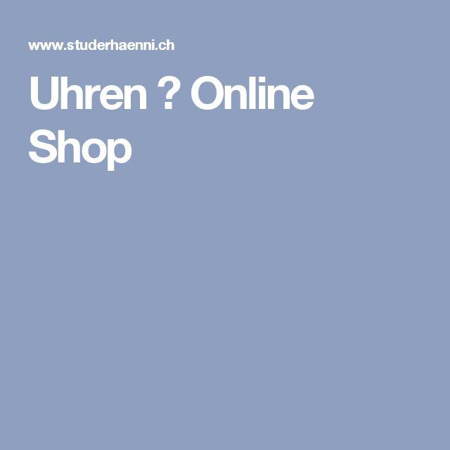 Uhren ⌚ Online Shop