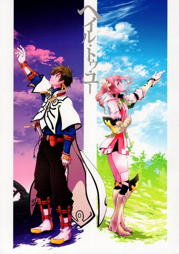 Tales of Zestiria Light Romance Doujinshi - Hail To You