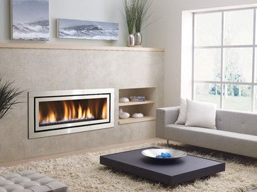 Regency Horizon HZ54E modern gas fireplace modern fireplaces