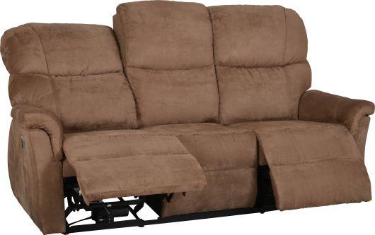 confortable canap de relaxation lectrique salta avec ses 2 assises inclinables aux extr mit s. Black Bedroom Furniture Sets. Home Design Ideas