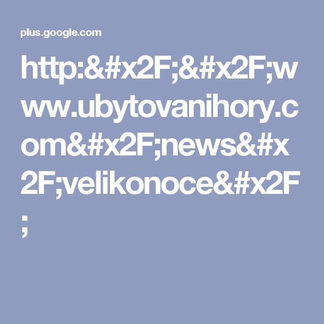 http://www.ubytovanihory.com/news/velikonoce/