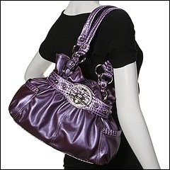 purple purse, can't find it to buy and prob can't afford it but I can dream :)