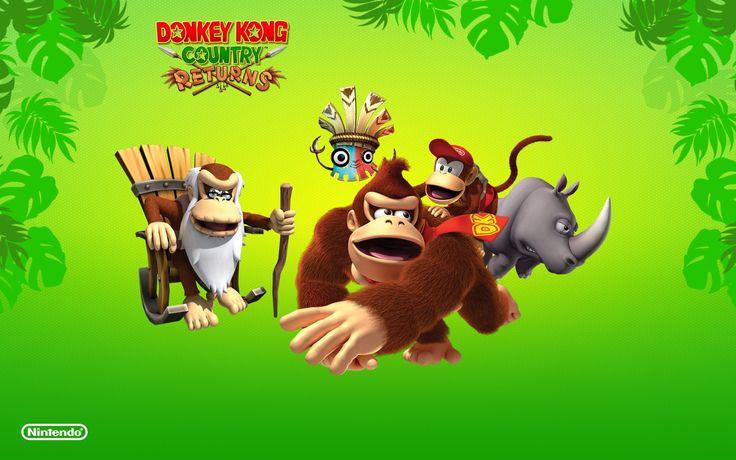 donkey kong country returns image for large desktop (Sonny Brian 1920x1200)