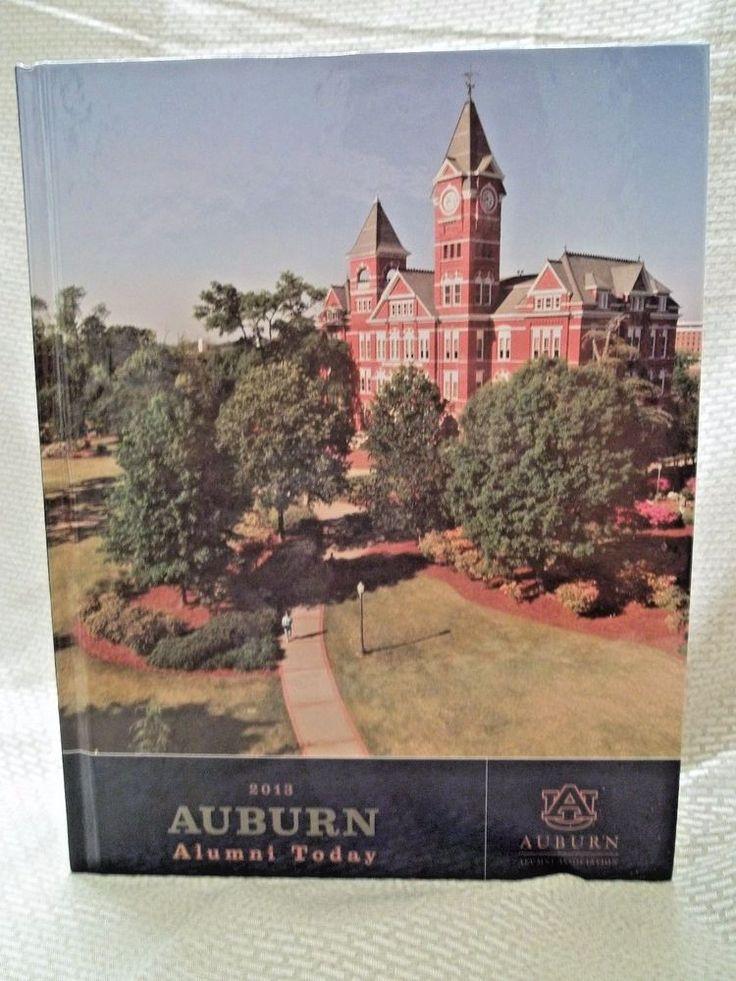 2013  AUBURN UNIVERSITY Alumni Directory History Hardcover Alabama