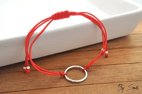 Sterling Silver karma Bracelet, Small karma, Silver karma, karma charm, karma Pendant, karma, circlet, circlet charm, ring,
