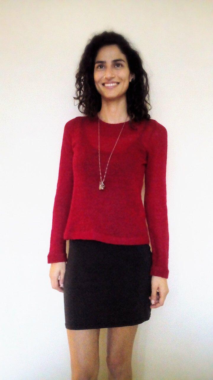 90s trui Boho chique Vintage overhemd Trendy Retrò Shirt Maglia vintage Maglioncino Maglia donna vrouw shirt Red Rosso door MetamorfosiAmbulante op Etsy https://www.etsy.com/nl/listing/204302355/90s-trui-boho-chique-vintage-overhemd
