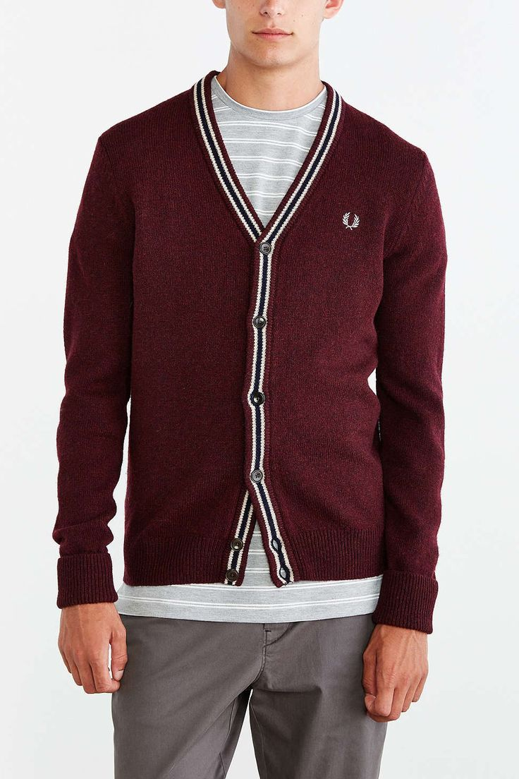 I'm a sucker for a nice Cardigan . . . And Fred Perry Fred Perry Cardigan