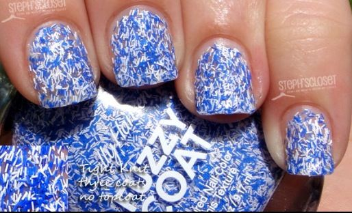 Fuzzy coat nail polish! Saw this at target it's sooooo cute!