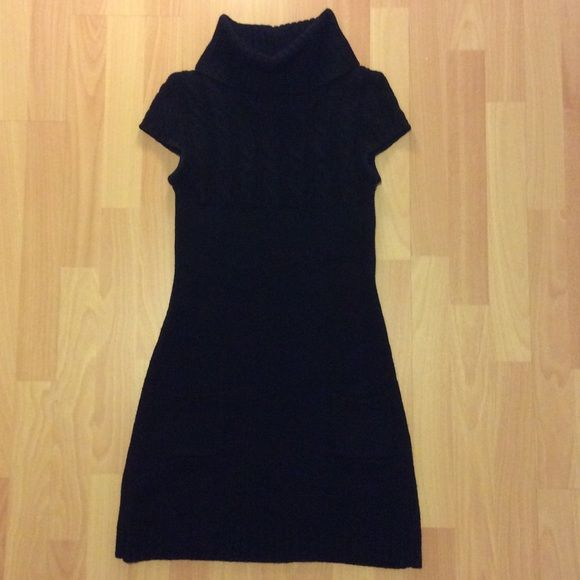 Black Wool/Knitted Winter Cocktail dress Great for the winter, keeps you warm, cozy, and you keep looking fabulous. In great conditions, barely used since I live in Florida. No Returns, but I do accept offers and willing to lower the price. Serious Buyers Only Please. Max Rave Dresses